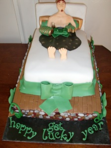 Chagi's 28th Irish Birthday Cake