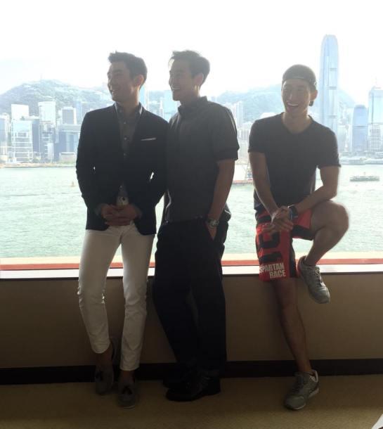 150803 彭于晏Eddie Peng FB - Siwon3