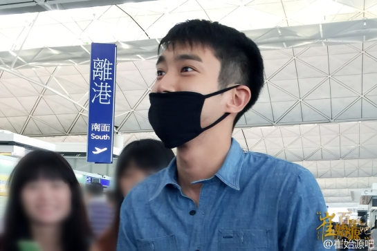 150804 Siwon at HK Airport By 崔始源吧 2